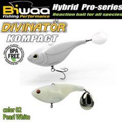 Shad Biwaa Divinator Kompact 7cm/30g, culoare Pearl White