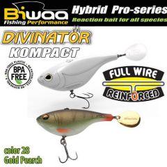 Shad Biwaa Divinator Kompact 5cm/20g, culoare Gold Perch