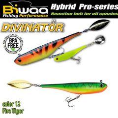 Shad Biwaa Divinator Mini 9.5cm/9g, culoare Fire Tiger