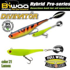 Shad Biwaa Divinator Mini 9.5cm/9g, culoare Lemon