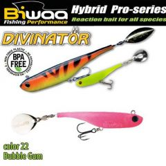 Shad Biwaa Divinator Mini 9.5cm/9g, culoare Bubble Gum
