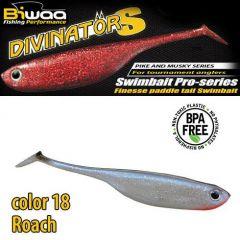 Shad Biwaa Divinator S 15cm, culoare Roach