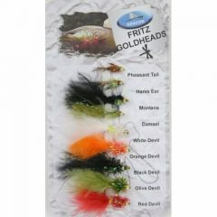 Set Muste Dragon Tackle Fritz Goldheads