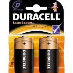 Baterie alcalina Duracell 1,5V D/R20, set 2buc.