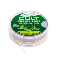 Fir textil Climax Cult Duramax Leader Red Brown 0.18mm/15kg/25m