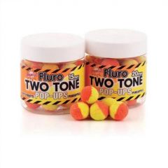 Boilies Dynamite Baits Pop-up Fluro Two Tone Tutti Frutti & Pineapple 15mm