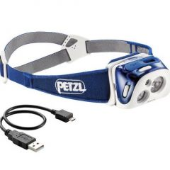Lanterna cap Petzl Reactik 220LM Blue
