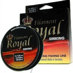 Fir monofilament Carbotex Royal Sinking Black 0.12mm/1.75kg/150m
