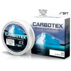 Fir monofilament Carbotex Ice Clear 0.12mm/2.15kg/30m