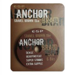 Fir textil ESP Anchor Braid Gravel Brown 20lb/10m