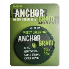 Fir textil ESP Anchor Braid Weed Green 15lb/10m