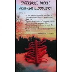 Larve de libelule Enterprise Tackle Artificial Bloodworm