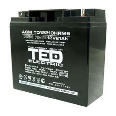 Acumulator etans GS TED 12V/22A