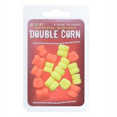 Porumb artificial ESP Double Corn Orange/Fluoro Yellow