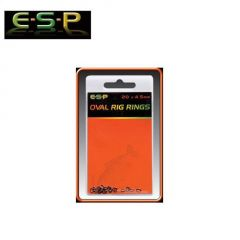 ESP Oval Rig Rings 4.5mm
