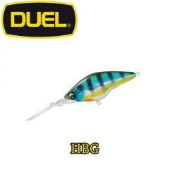 Vobler Duel Hardcore Deep Crank F 6cm/11g, culoare HBG