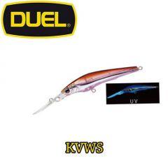 Vobler Duel Hardcore Longbill SP 7cm/5.5g, culoare KVWS