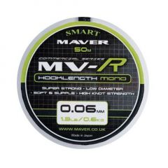 Fir monofilament Maver MV-R Hooklenght Mono 0.12mm/1.5kg/50m