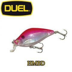 Vobler Duel 3D Quiet Wave Flat Crank 5.5cm/7g, culoare HMBD