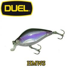 Vobler Duel 3D Quiet Wave Flat Crank 5.5cm/7g, culoare HMWS
