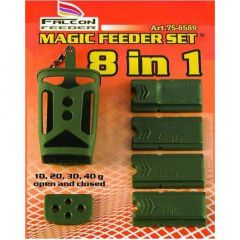 Momitor Falcon magic feeder set  8 in 1