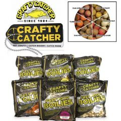 Boilies Crafty Catcher Fast Food Coconut & GLM 500gr