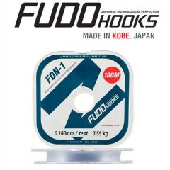 Fir monofilament Fudo FDN-1 Clear 0.26mm/8.9kg/100m
