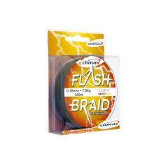 Fir textil Climax Flash Braid Green 0.14mm/9kg/100m