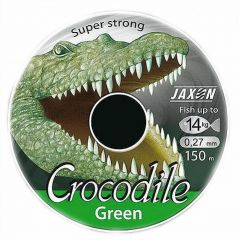 Fir monofilament Jaxon Crocodile Green 0,18mm/6kg/150m