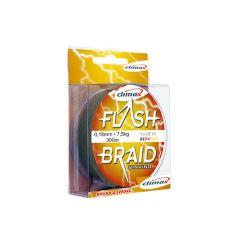 Fir textil Climax Flash Braid Grey 0.10mm/6.5kg/100m