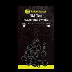 Varteje RidgeMonkey RM-Tec Flexi Ring nr.8