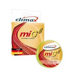Fir textil Climax MIG8 Extreme 8-Braid Fluo Yellow 0.18mm/18.2kg/135m
