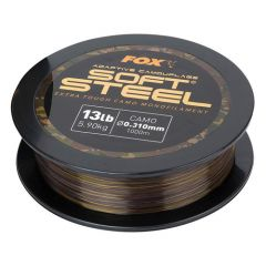 Fir monofilament Fox Adaptive Camouflage Soft Steel 0.35mm/8.18kg/1000m