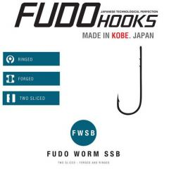 Carlige Fudo Worm SSB BN nr.4/0