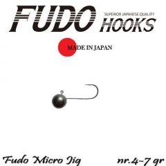 Microjig Relax Spinning bila carlig Fudo nr. 4, 7gr, plic  9buc.