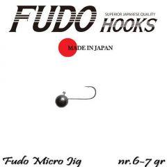 Microjig Relax Spinning bila carlig Fudo nr. 6, 7gr, plic  9buc.