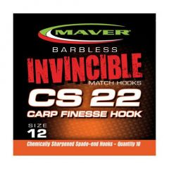 Carlige Maver Invincible CS22 Carp Finesse Nr.14
