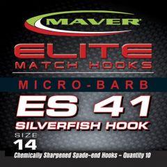 Carlige Maver Seria Elite ES41 Silverfish nr 18
