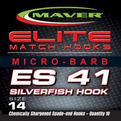 Carlige Maver Seria Elite ES41 Silverfish nr 24