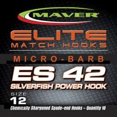 Carlige Maver Seria Elite ES42 Silverfish Power nr 14
