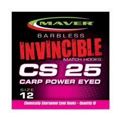 Carlige Maver Invincible CS25 Power Eyed Nr.16