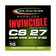 Carlige Maver Invincible CS27 Carp Wide Gape Nr.12