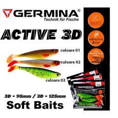 Shad Germina Active 3D 9.5cm, culoare 01