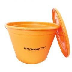Galeata Genlog Orange cu capac 21L
