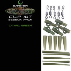 Gardner Clip Kit Covert, verde