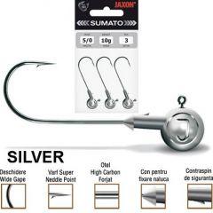 Jig Jaxon Sumato Silver, carlig nr.4, 4gr
