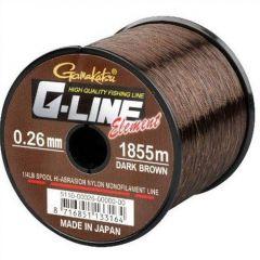 Fir monofilament G-Line Element Dark Brown 0,30mm/6.8kg/1325m