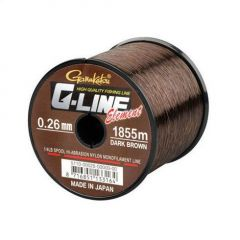 Fir monofilament Gamakatsu G-Line Element Dark Brown 0.35mm/9.60kg/925m