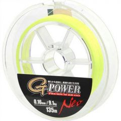 Fir textil Gamakatsu G-Power Premium Yellow 0.12mm/7.2kg/135m