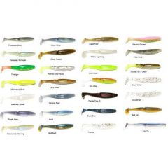 "Shad Gambler Little EZ Swimbait 3.75"" Alewife"